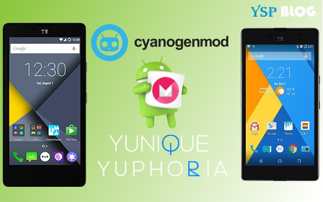 CyanogenMod Marshmallow 13.0 Nightlies for YU Yuphoria, Yunique now available for Install