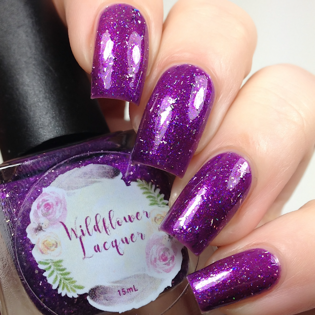 Wildflower Lacquer-Sweetheart, Pray for Brains