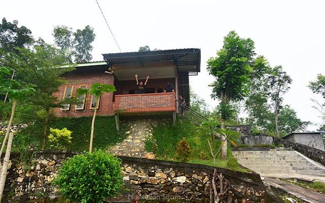 Homestay milik Mas Arif di kawasan Pindul