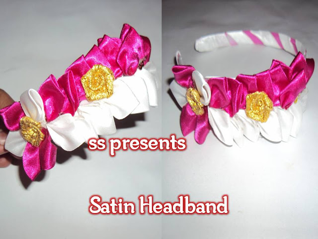 Here is Images for satin ribbon crafts,1000+ ideas about Satin Ribbon Roses,how to make satin ribbon malai,craft work using satin ribbon,decorative satin ribbon,Images for satin ribbon headbands,1000+ ideas about Elastic Headbands,Satin Ribbon kanzashi Headbands.