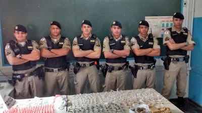 Forças Policiais - Policiais da equipe