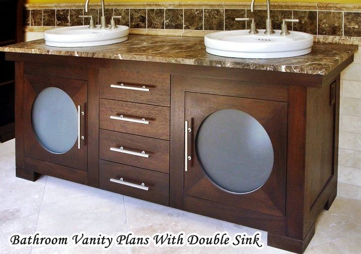 Build Your Own Bathroom Vanity Plans Hometiens