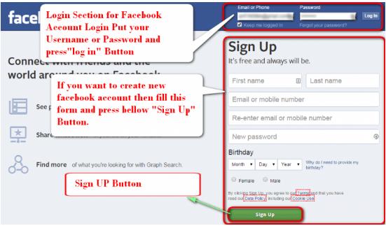 Facebook Login Sign in Facebook Login Sign in 2017