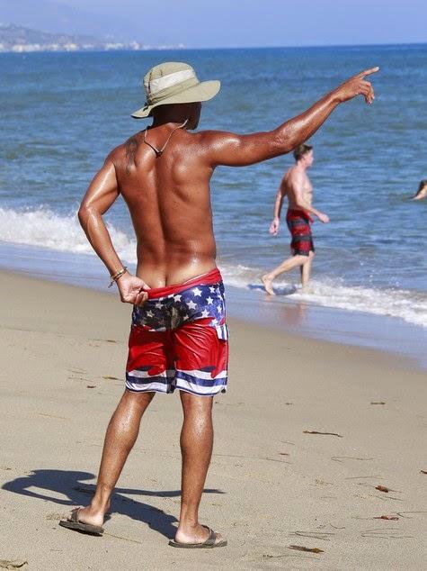 Cuba Gooding Jr. Goes Shirtless After Scoring Goal | Black