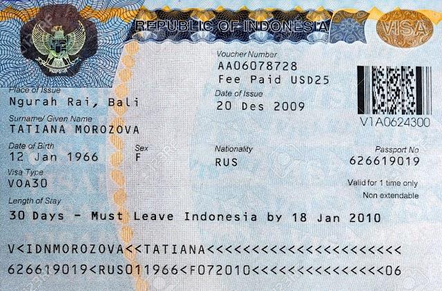 VISA kerja luar negeri