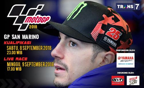Jadwal MotoGP San Marino 2018 di Sirkuit Misano Italia