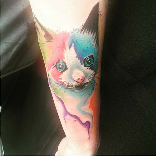 kedi dövmeleri cat tattoos 23