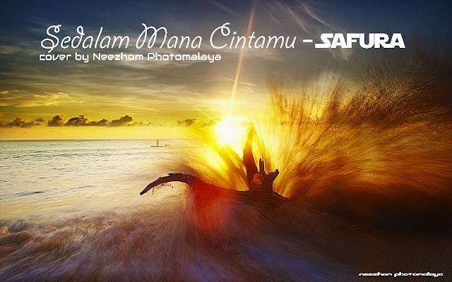 Sedalam mana cintamu - Safura - Electric guitar cover by Neezhom Photomalaya