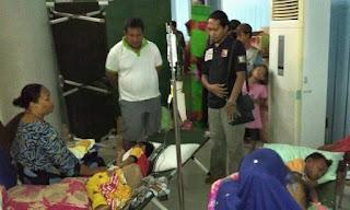 Para Pengungsi dan Korban Bencana  Terancam DBD dan Sesak Nafas