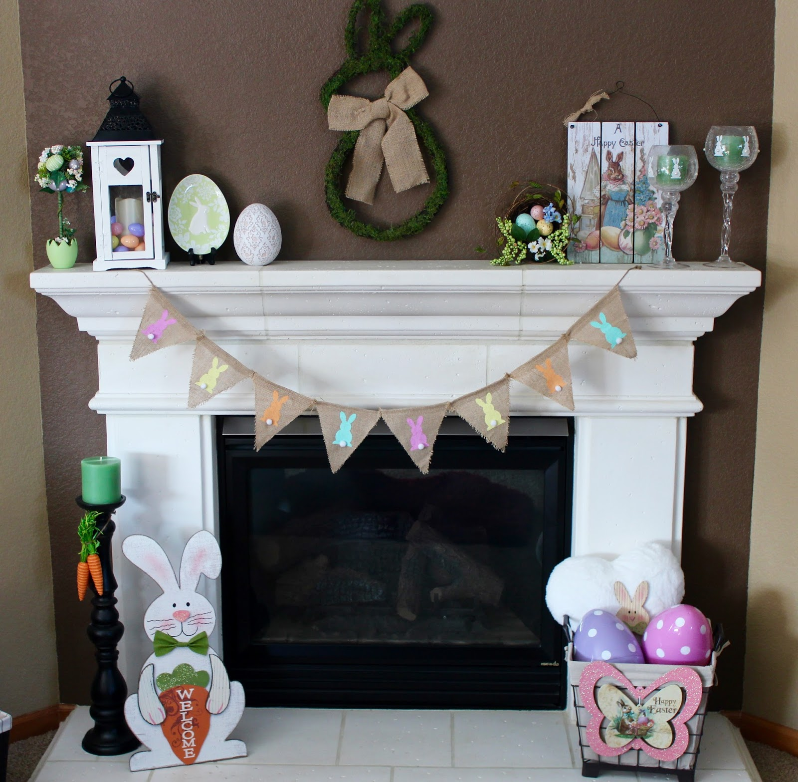 living on cloud nine easter decor hop on over