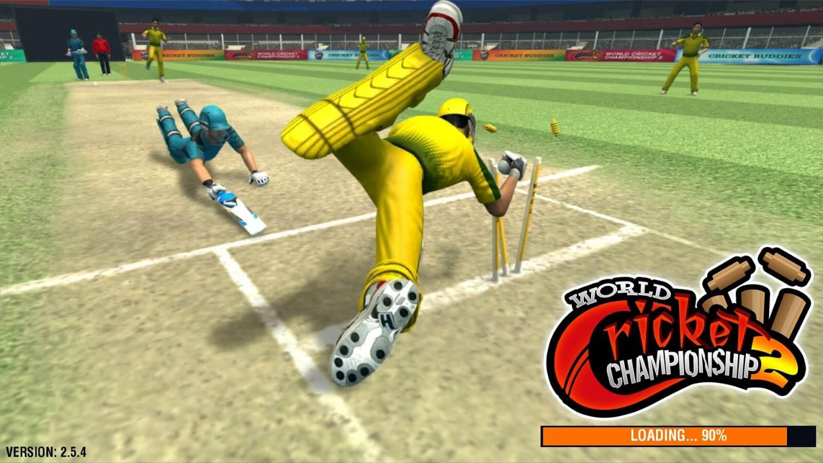 Download World Cricket Chempionship 2 Mod Apk-Get [Mods/Data/Unlocks]