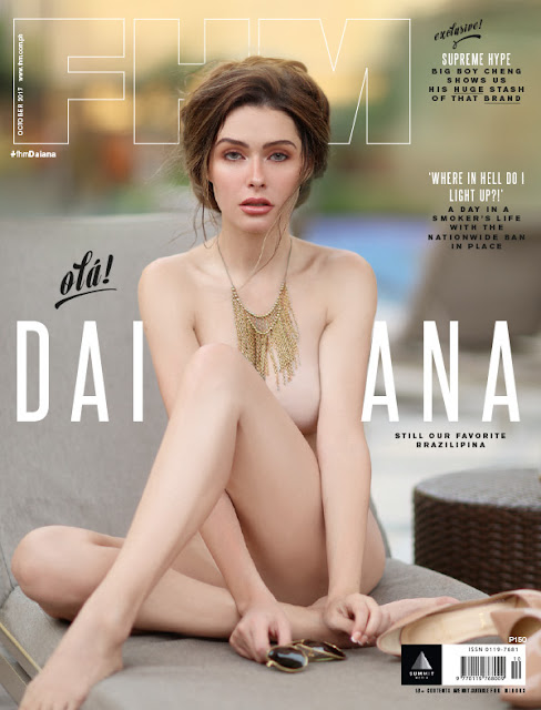 Daiana Menezes FHM October 2017 Cover Download
