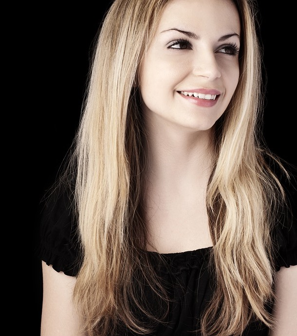 Smiling woman Improved Complexion
