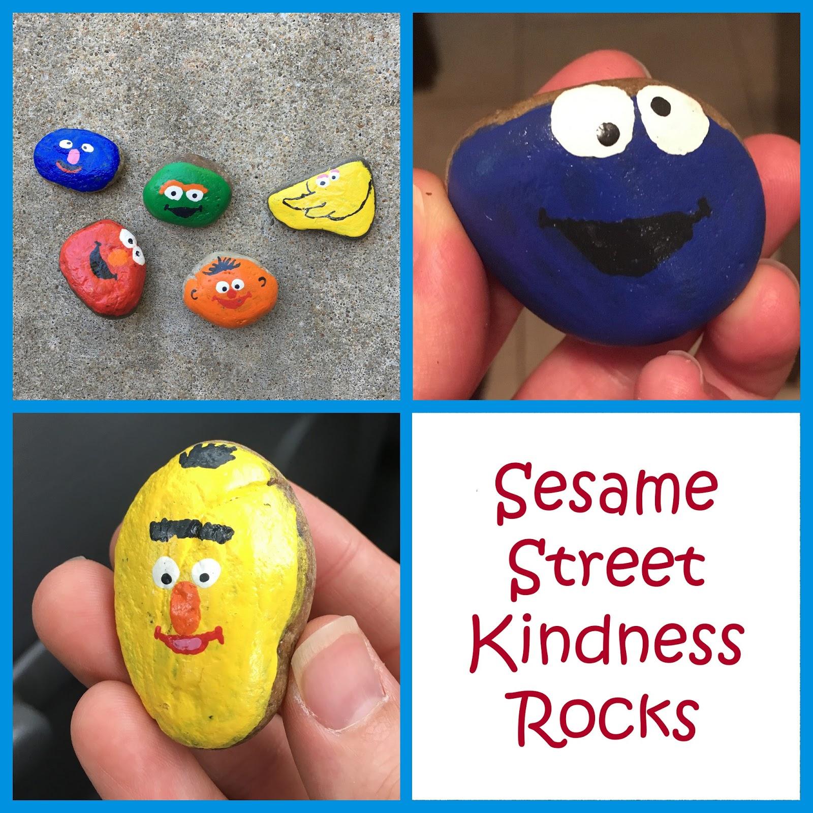 What I Live For Sesame Street Kindness Rocks