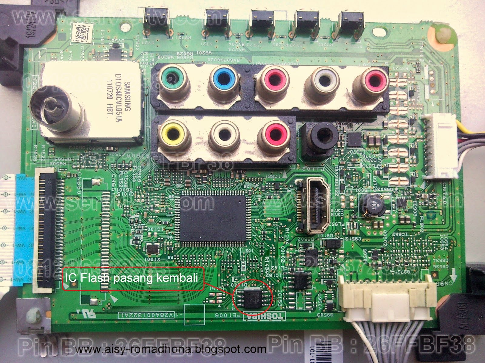 Toshiba LED TV Mainboard