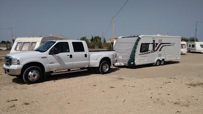UK Spain caravan delivery