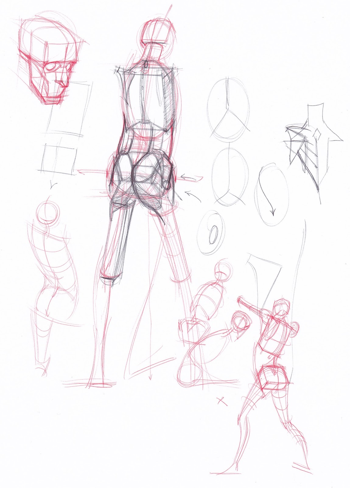 Figuredrawingfo News Anatomy Tools Sketches