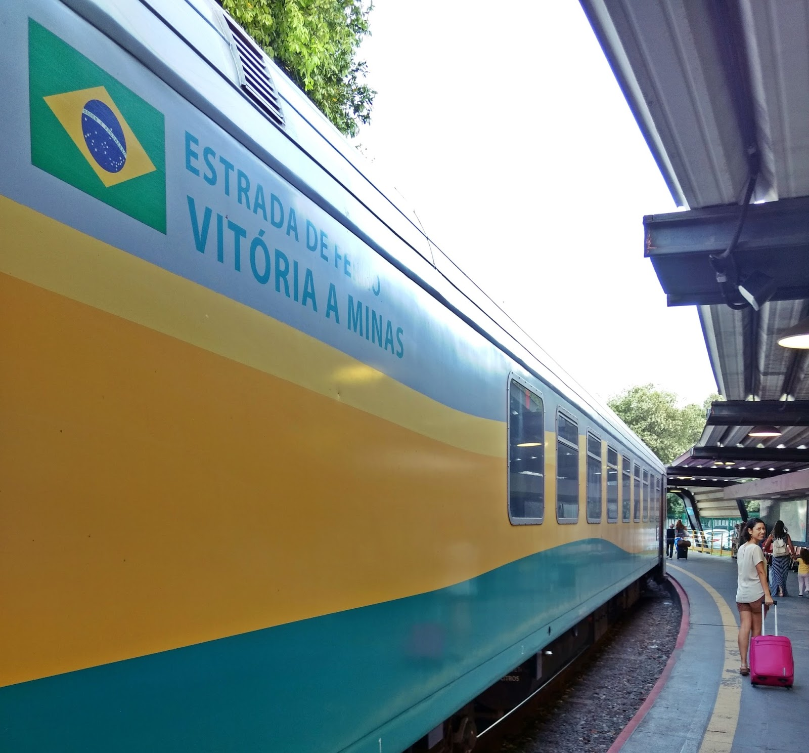 Trem da Vale de Vitória a Belo Horizonte