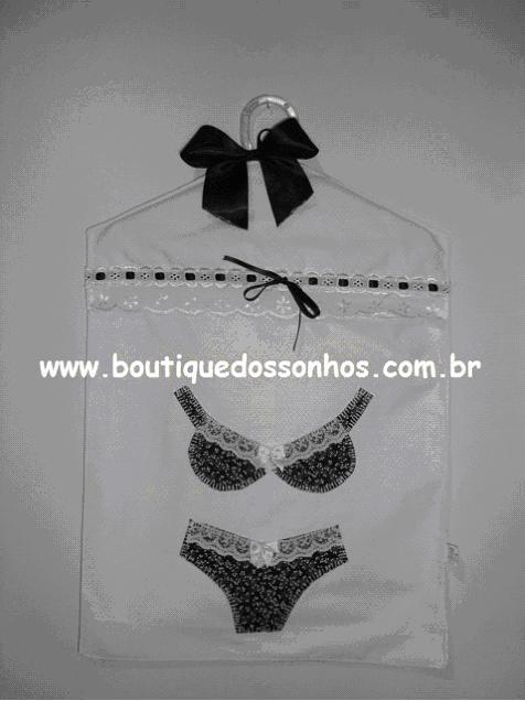 6360a9fc4 Aprenda a fazer um porta lingerie muito fofo! - Claudia Tenório