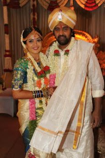 Meghana Raj Family Husband Parents children's Marriage Photos