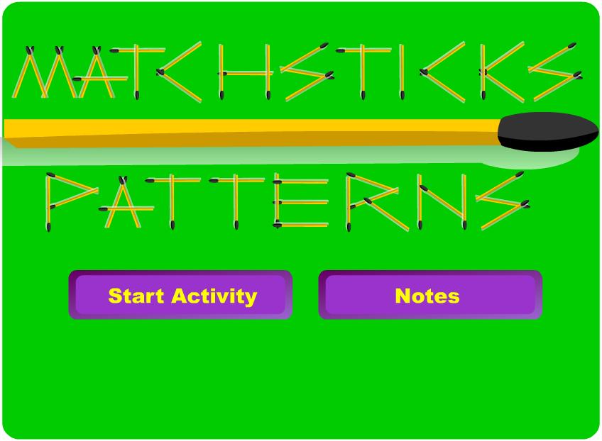Tech Coach Matchstick Patterns