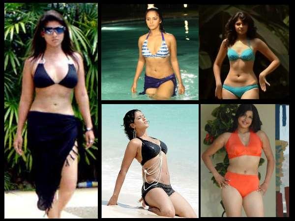 South Indian Actress Bikini.