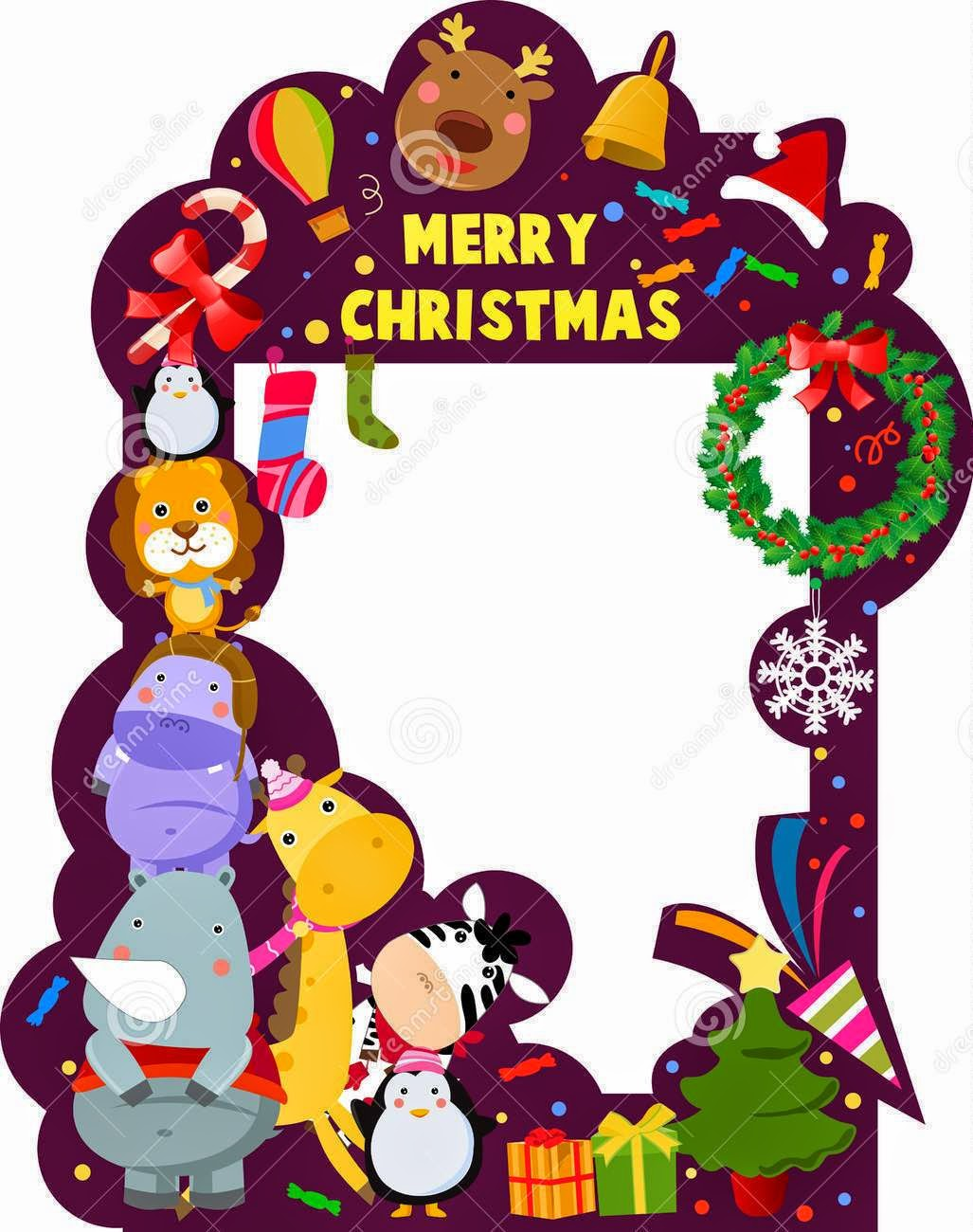 Merry Christmas 2015 Photo Frame 3D