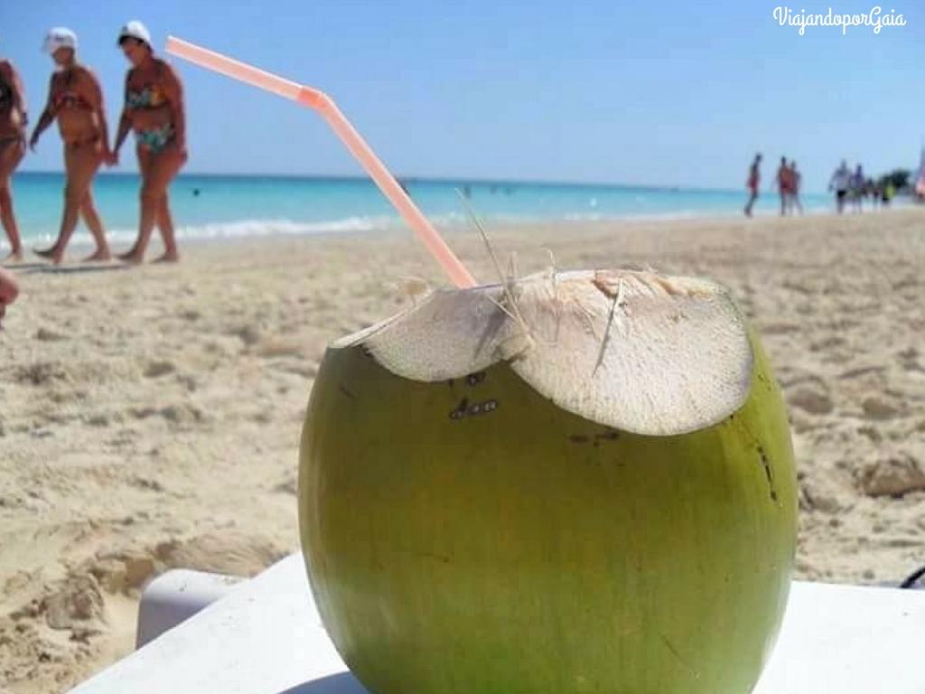 Jugo de coco natural