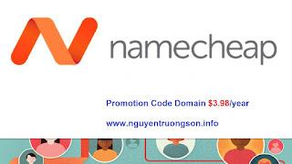 Hướng dẫn mua Tên miền trên NameCheap với Promotion Code