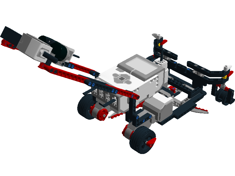 √ Easy projects for Lego Mindstorms EV3 Robot: EV3 Lawn