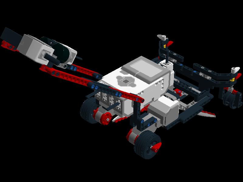 Easy projects for Lego Mindstorms EV3 Robot: EV3 Lawn ...
