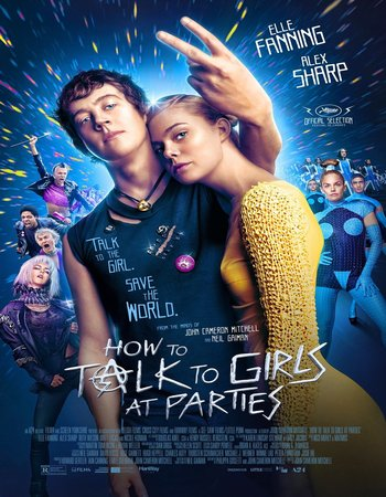 How to Talk to Girls at Parties (2017) English 480p WEBRip