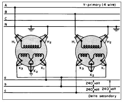 phase wye delta wiring diagram images delta transformer circuit diagram wiring diagram