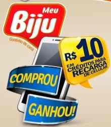 Cadastrar Promoção Meu Biju Comprou Ganhou Crédito Celular