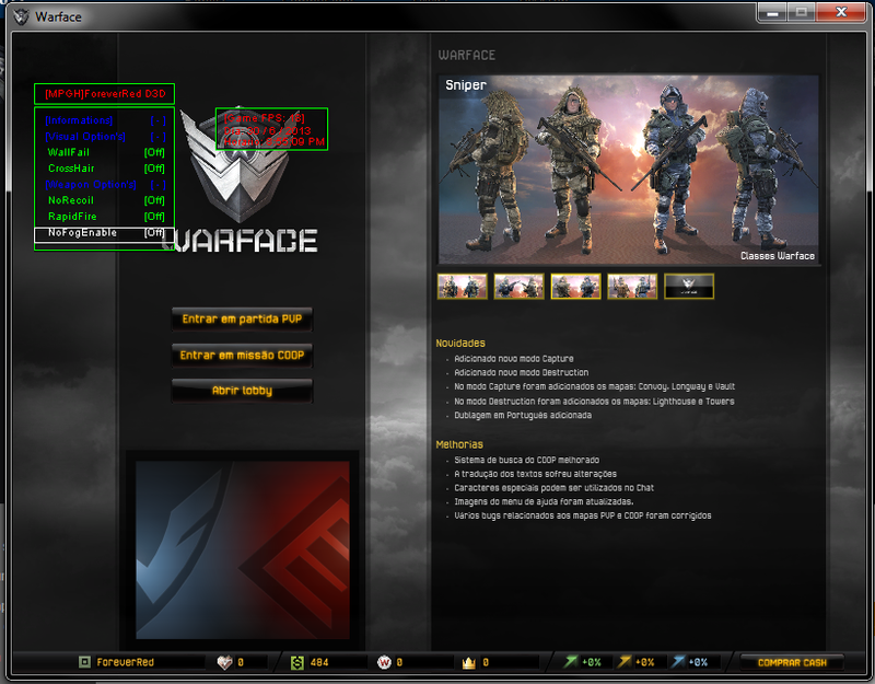 gnz WarFace Hile D3D Simple 2014 Oyun Botu indir