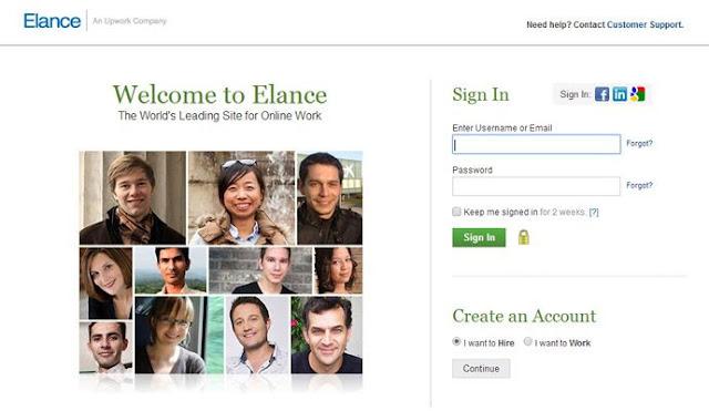Elence Lowongan Kerja Online Freelancer