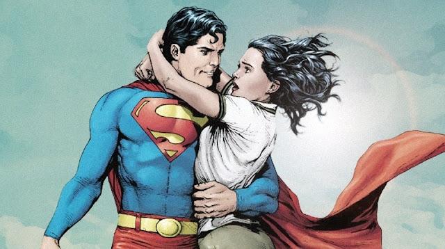Lois Lane e Clark Kent (Super Homem)
