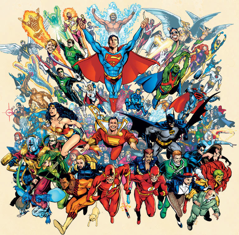Justice league characters - ONLINE NEWS ICON