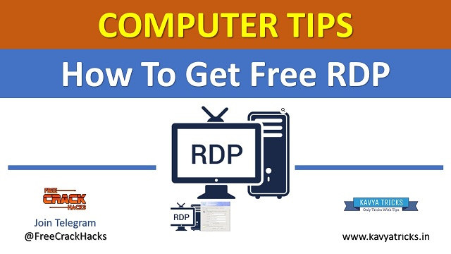 How To Get Free RDP Read Step By Step Instruction To Get It Free