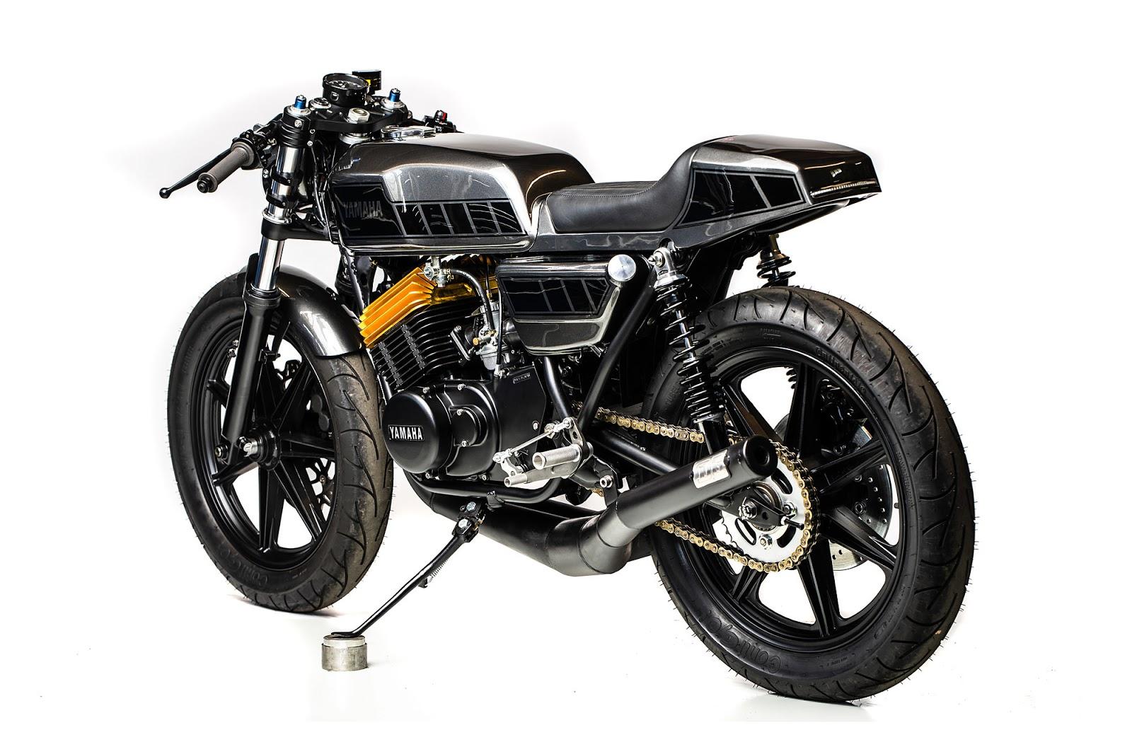 ϟ Hell Kustom ϟ: Yamaha RD400 By MotoRelic
