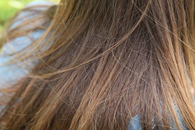 تفتيح لون شعرك المصبوغ
