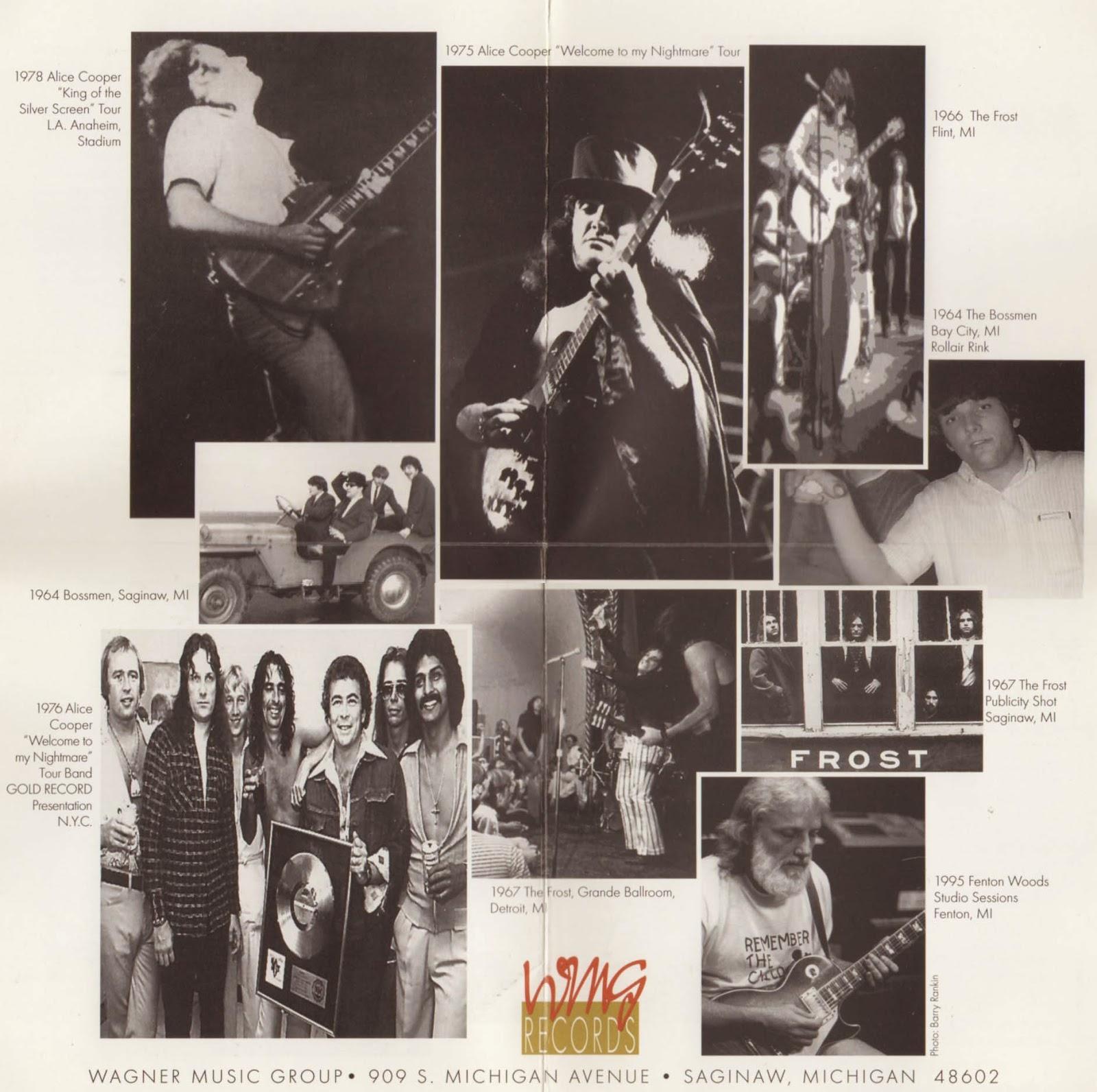Evenspot Speaks 1995 Rock Hitstory Dick Wagner Cd