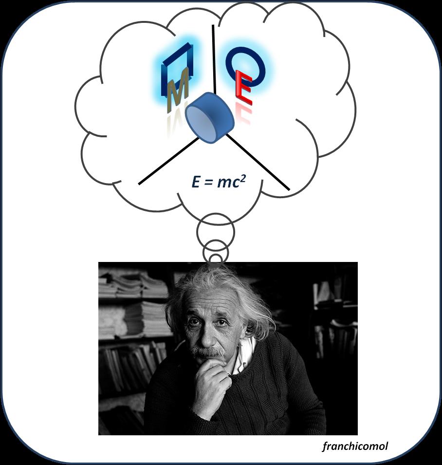 franchicomol: Y llegó Einstein, y la masa se hizo energía.