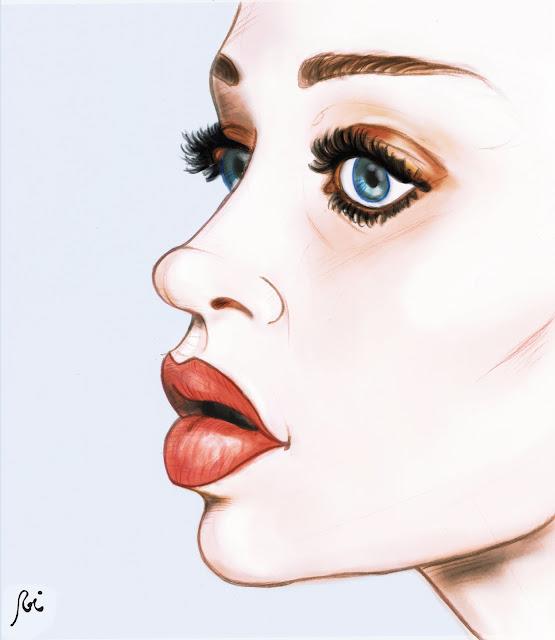 """Fiona Apple en """"Tidal"""". Ilustración de Roi Pardo"""