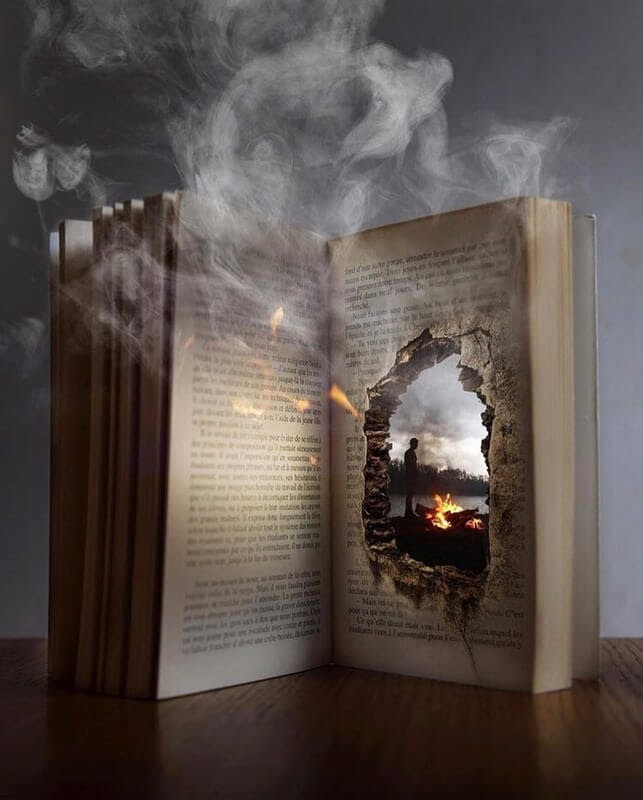 06-The-power-of-books-Natacha-Einat-Photos-of-Our-Word-in-Surrealism-www-designstack-co