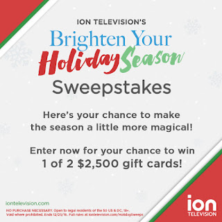 Enter the Brighten Your Holiday Season Sweepstakes to win 1 of 2 $2,500 AmEx gift cards. Ends 12/25