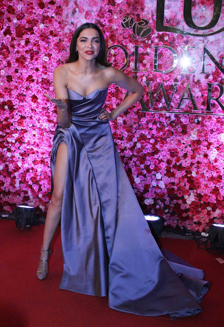 Deepika paudkone at Lux golden rose Awards