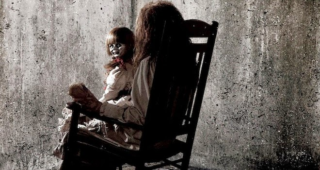 annabelle the haunted doll from conjuring