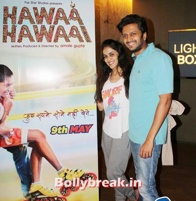 Ritesh Deshmukh and Genelia D Souza