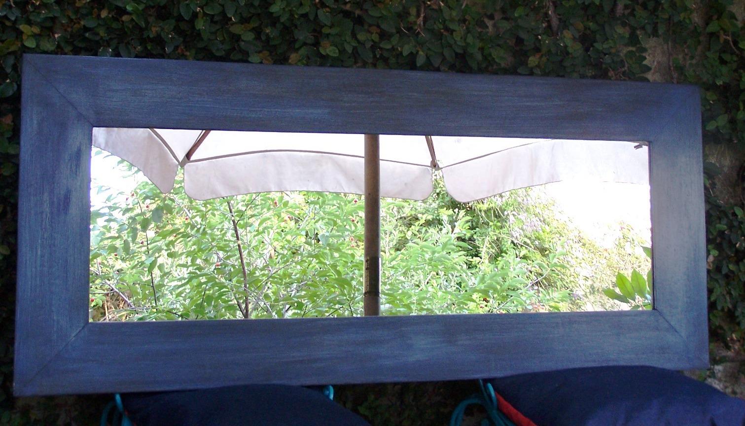 Chiribitil: Espejo marco ancho